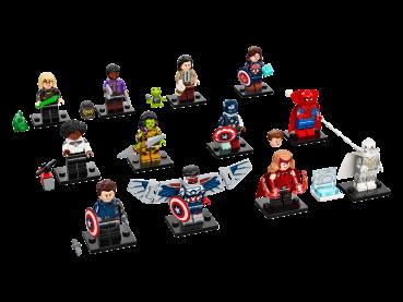 LEGO® Minifiguren 71031 Marvel Studios komplett Set mit allen 12 Figuren